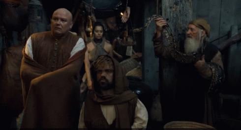 Οι περιπέτειες του Τύριον και του Βάρυς στην εξορία